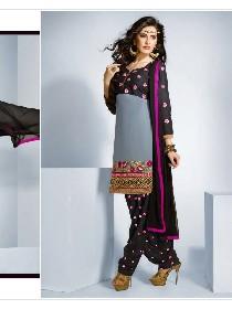 patiyala house vol. 12... party wear chnaderi cotton dress