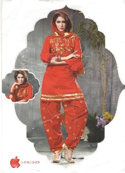 antra-6 chnderi cotton party wear dress