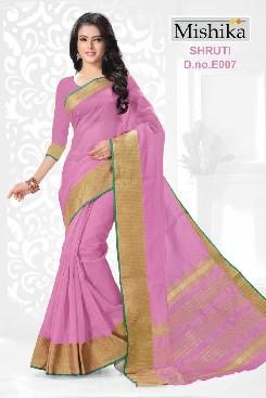 venisa shruti polyester saree with printed