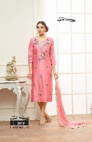 your choice ethnic-5 jama glass cotton salwar kameez with heavy emboridery