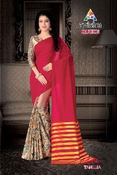 3616d740509 venisa queen 100% gas mercerized cotton saree with digital printed    handloom cotton. Designs   6
