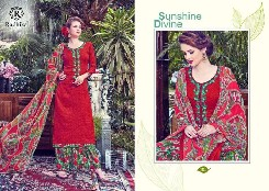 aasya silk cottonprinted & embroidery salwar kameez dress
