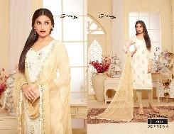 your choice devsena bombay cotton dress salwar kameez with heavy embroifery