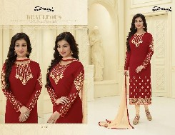 your choice aysha-1 fox georgette bollywood suits heavy embroidery
