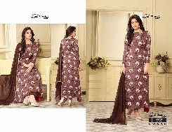 your choice emaar party wear rayon print dress
