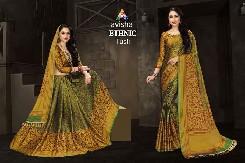 avisha-ethnic-party-wear-cotton-silk-saree-with-digital-printed
