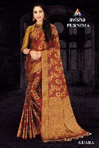 avisha-purnima-party-wear-handloom-cotton-silk-saree-with-digital-printed