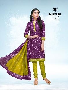 deeptex classic chunaris-14 cotton pritned dress material