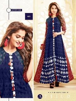 decent-party-wear-rayon-cotton-kurti-