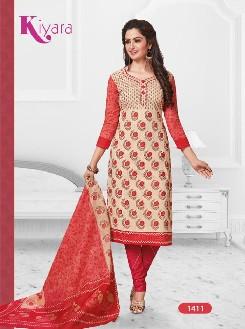 rtc kiyara-14 casual wear cotton dress with printed material