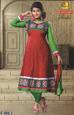 aashi-1 cotton semi stitched salwar suits collection
