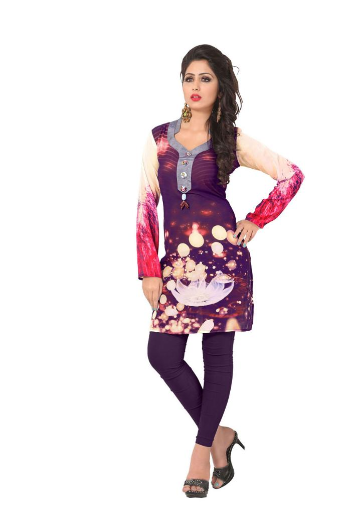 buy ashiqa weightless georgette kurtis wholesale