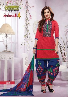 khwaish sehzadi-4 chiffon,printed patiyala salwar kameez collection