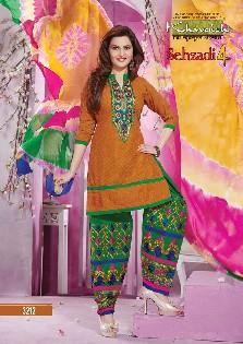 khwaish sehzadi-4 chiffon,printed patiyala salwar kameez collection