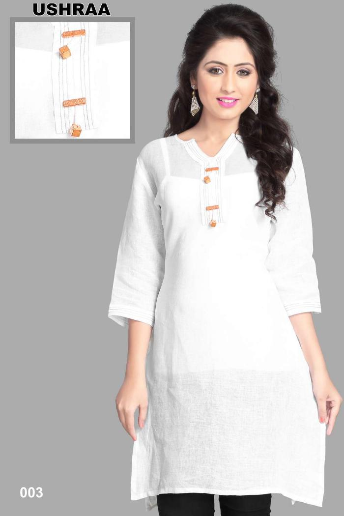 linen party wear kurtis