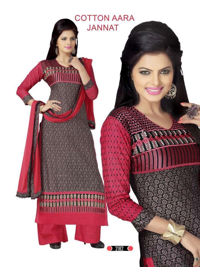 cotton aara jannat-2 salwar kameez shopping