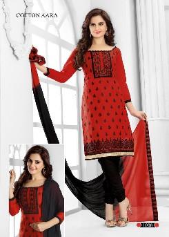 designer shivani-5 pure cambric cotton salwar kameez online