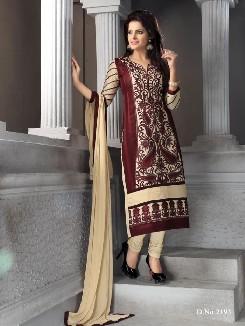 cotton aara gul naaz-6 chiffon cotton semi stitched suits