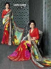 pavitra vol.5 weightless printed designer sarees online