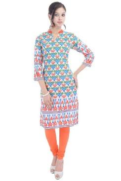 anjani cotton printed kurtis online shopping