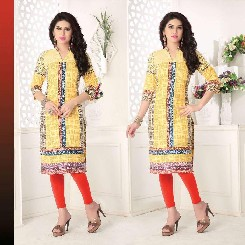cotton trendz latest cotton printed kurtis for girls